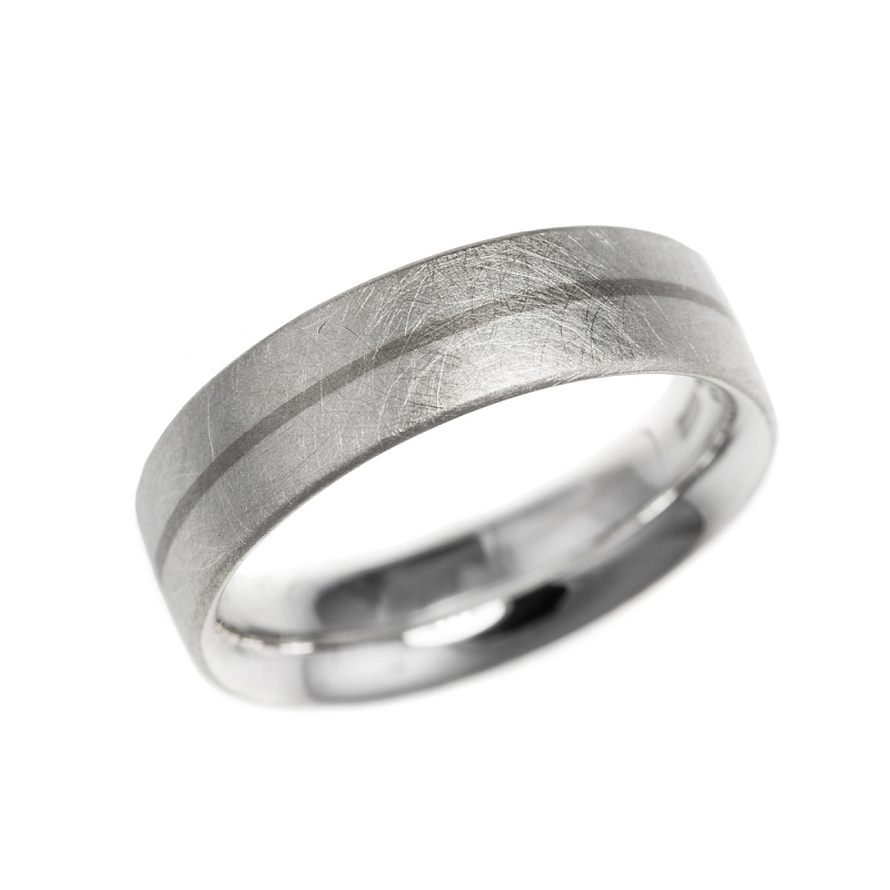 Silver and gold stripe rings Photo r100.jpg