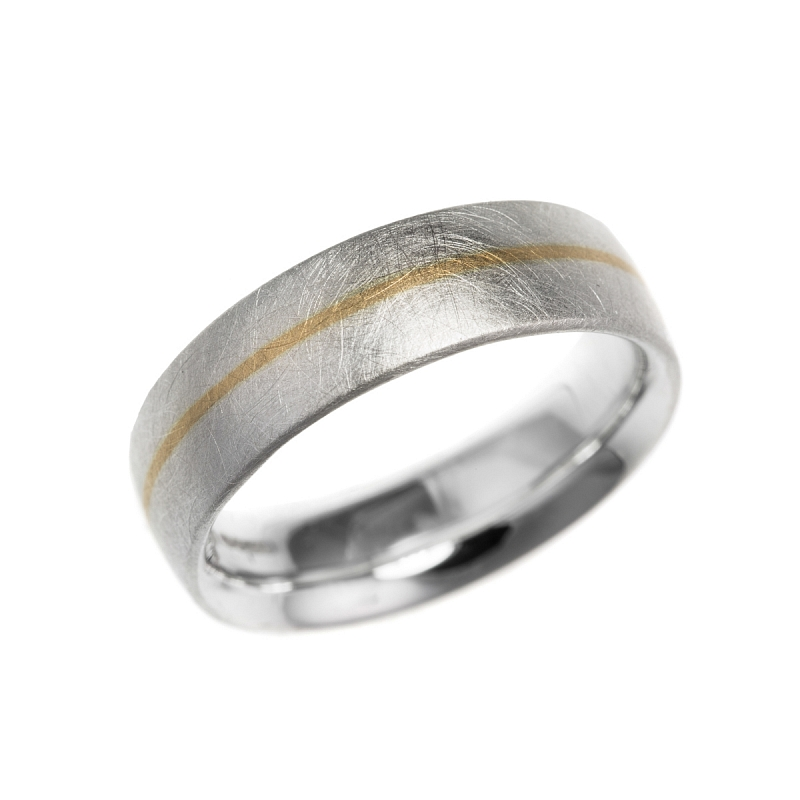 Silver and gold stripe rings Photo r95.jpg