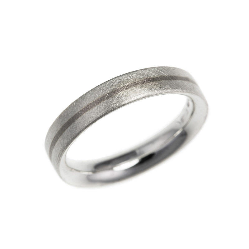 Silver and gold stripe rings Photo r99.jpg