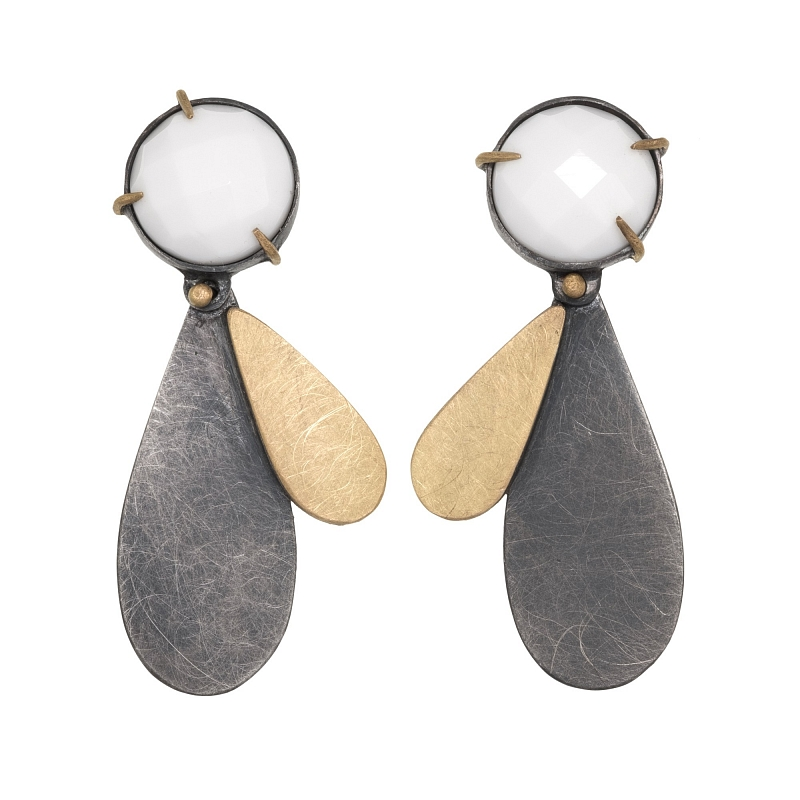 E97 round white onyx drop earrings Photo h_webster-5881.jpg